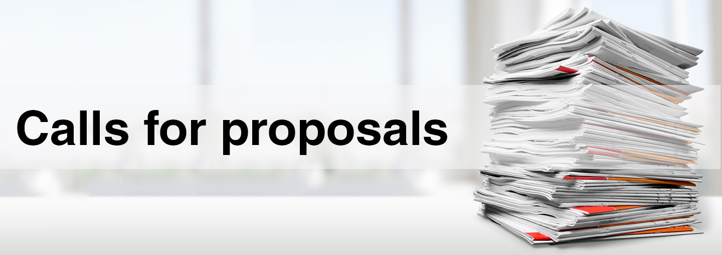 Calls for proposals